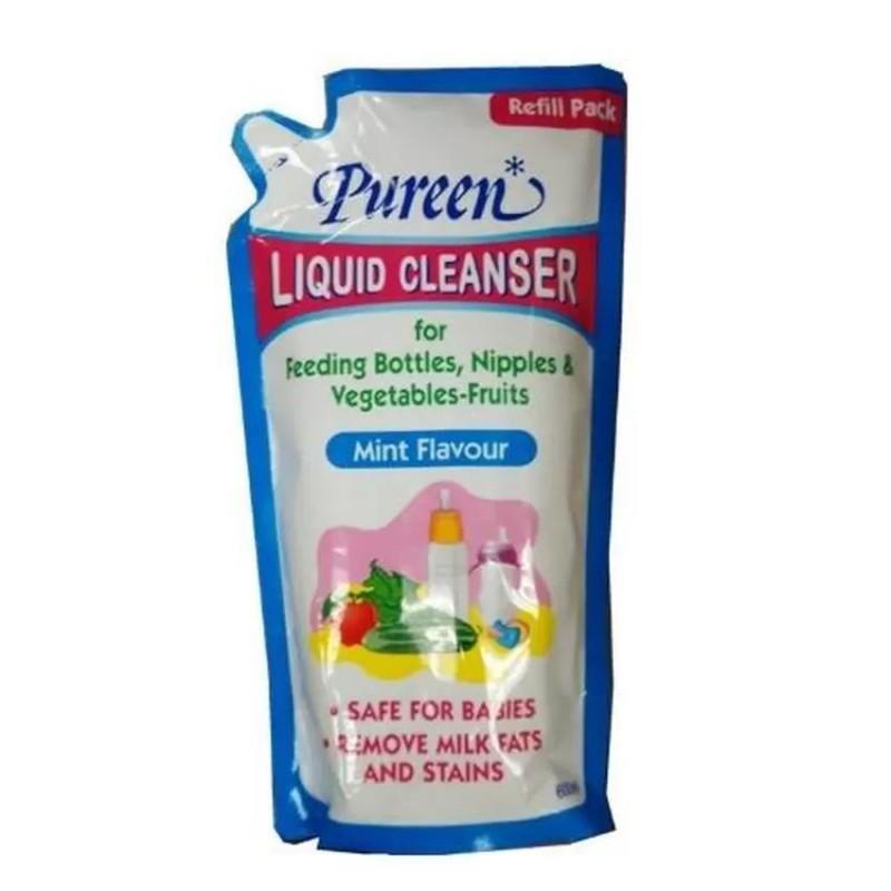 Pureen Liquid Cleanser Refill Mint Flavour (600ml)