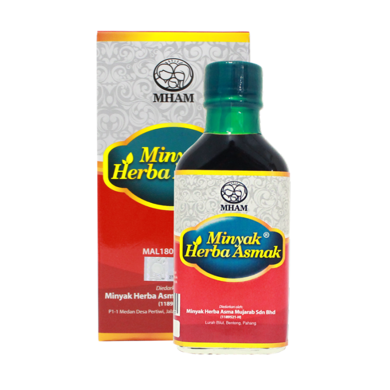 Asmak - Minyak Herba -30ml