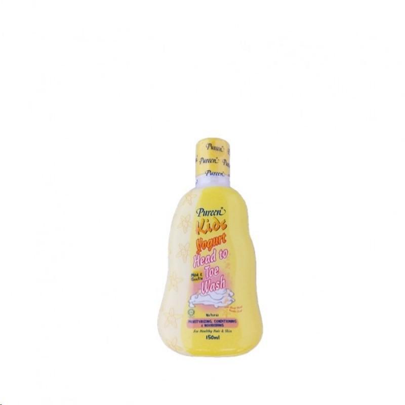 Pureen Kids Yogurt Head To Toe Wash Natural (150ml)