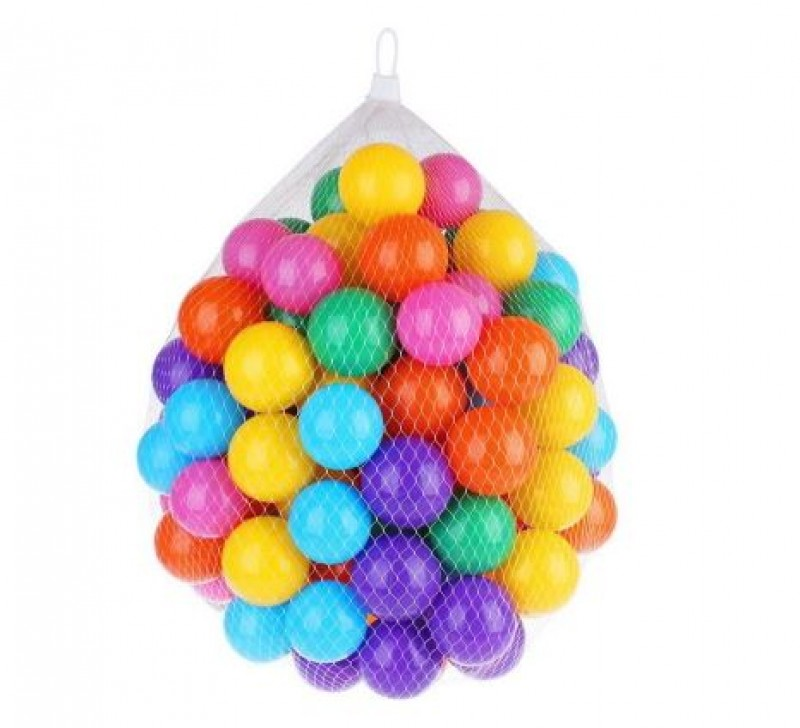 Colourfull Fun Ball 100pcs
