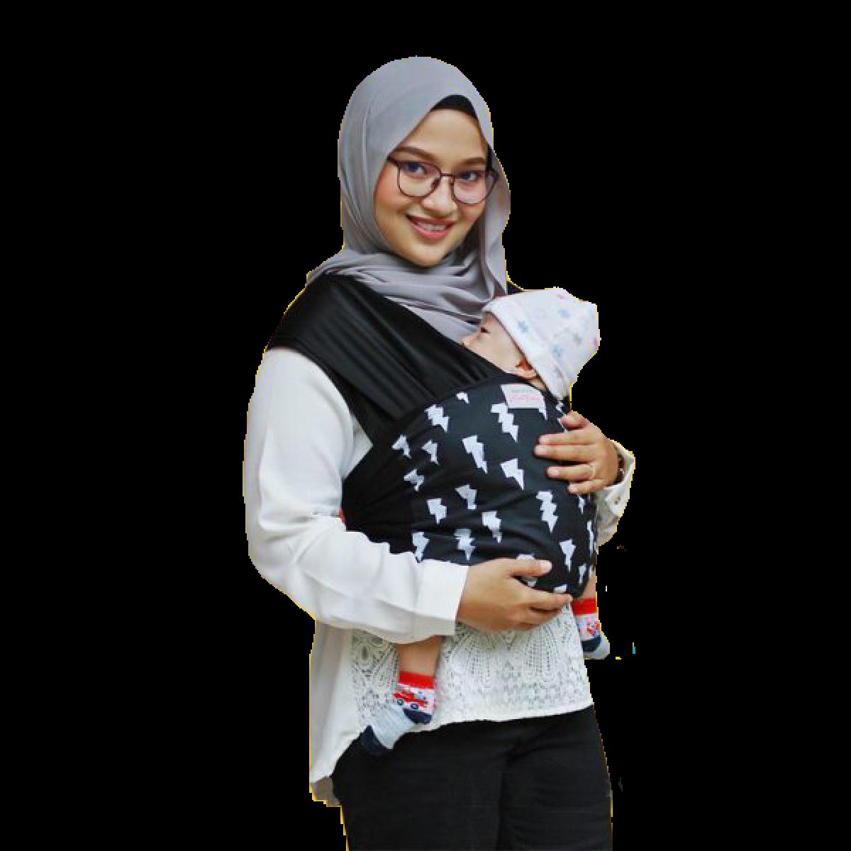 Instant Baby Wrap Mak Yang - Kico Baby Center