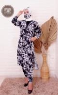 Setelan Long Tunic - Larissa premium