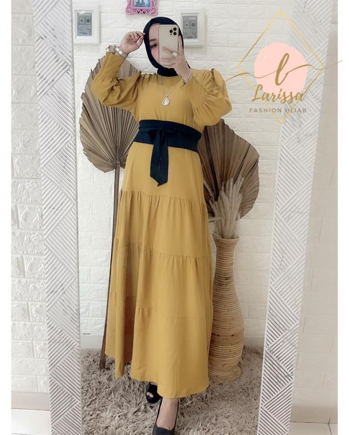 Dress  Mustard - Larissa premium