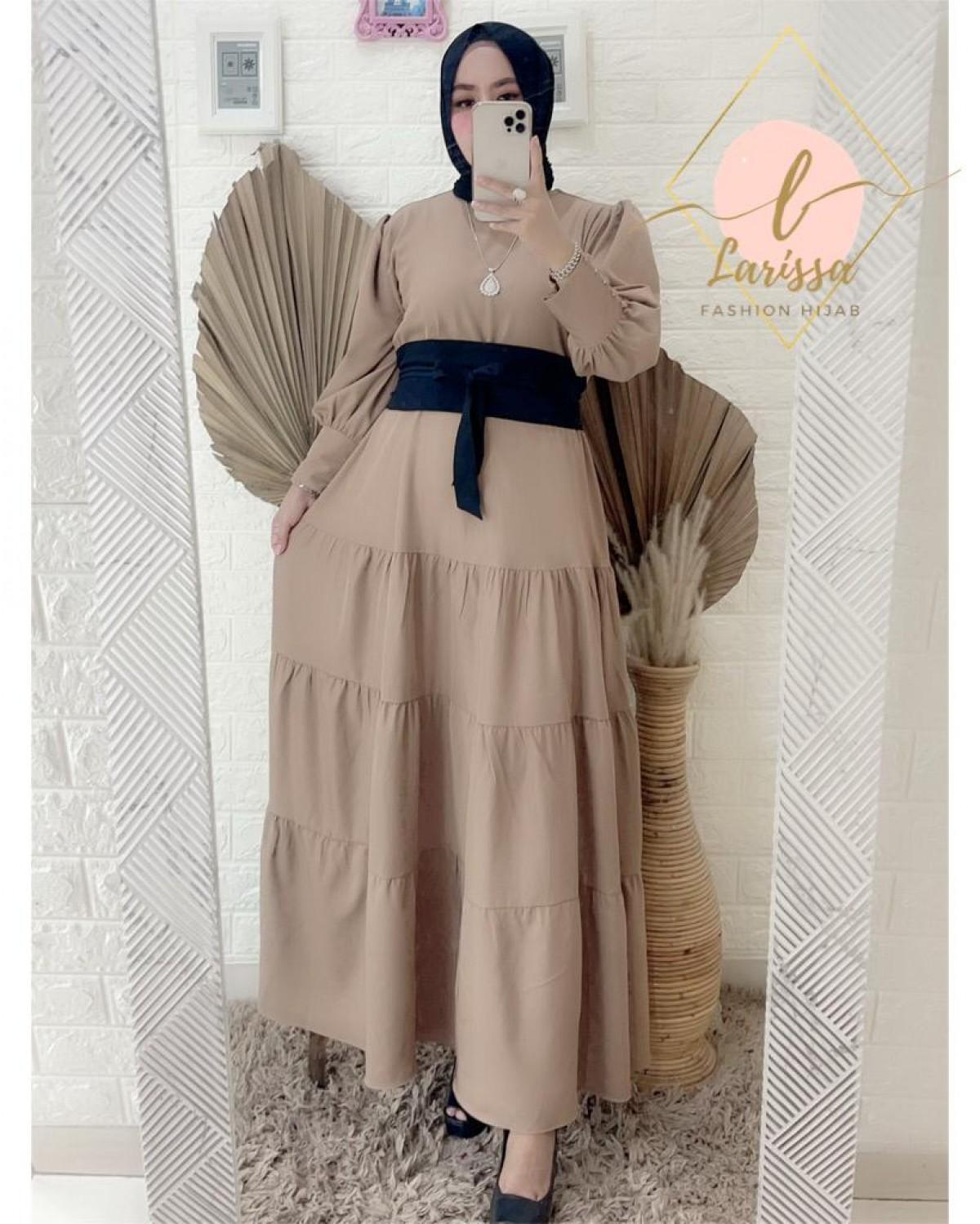 Dress Mocca - Larissa premium