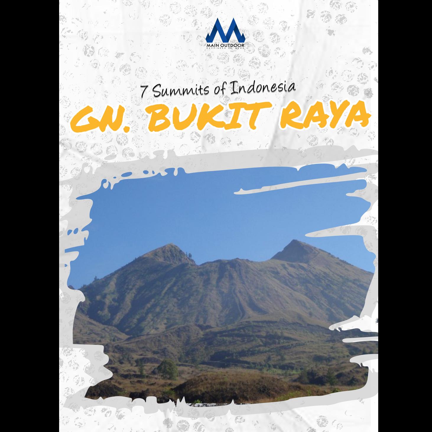 Mt. Bukit Raya 7 Summit Indonesia