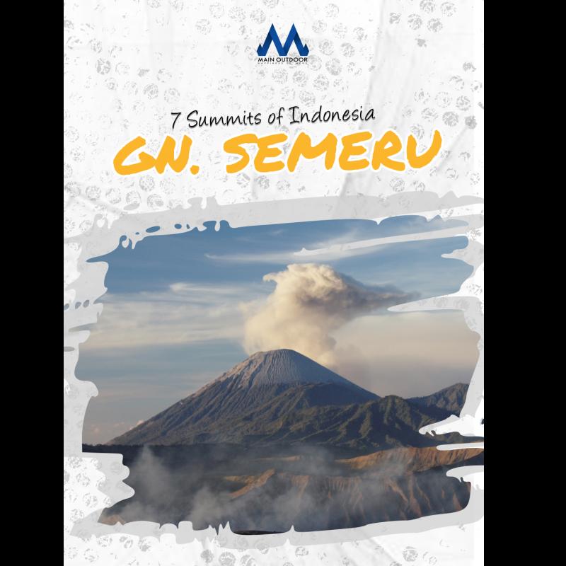 Gunung Semeru - 7 Summits of Indonesia