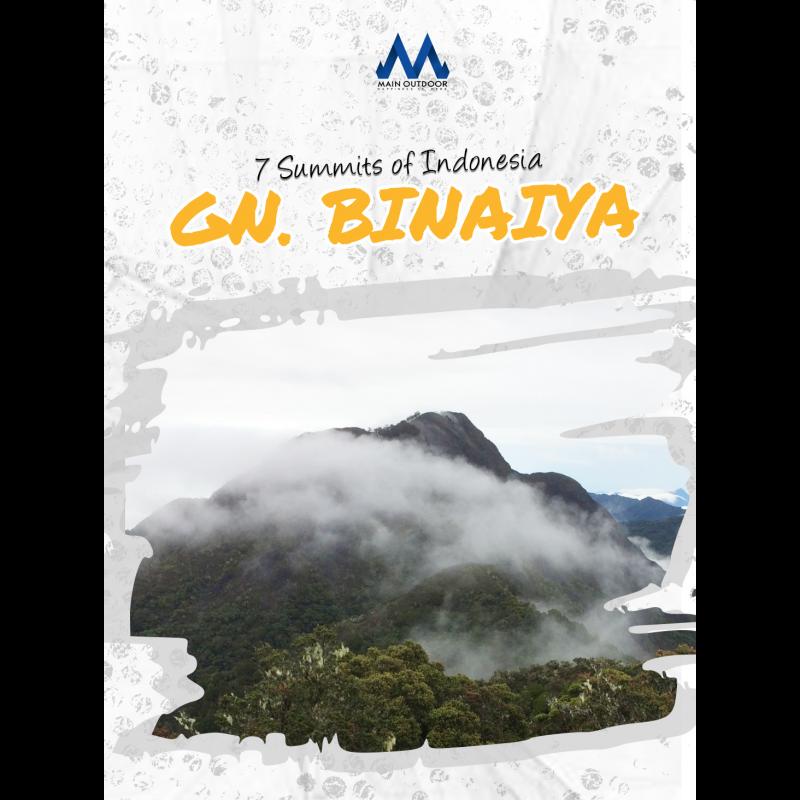 Mt. Binaiya 7 Summit Indonesia