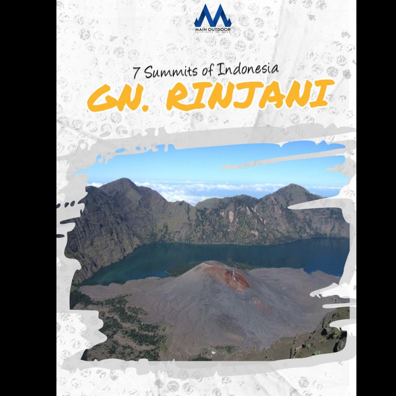 Mt. Rinjani 7 Summit Indonesia