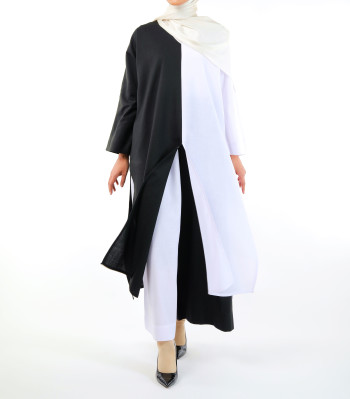 INHANNANA MAHAZAN IN WHITE