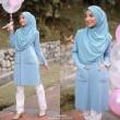 ALLYSA TUNIC  - Wardatul Baydha Hijab