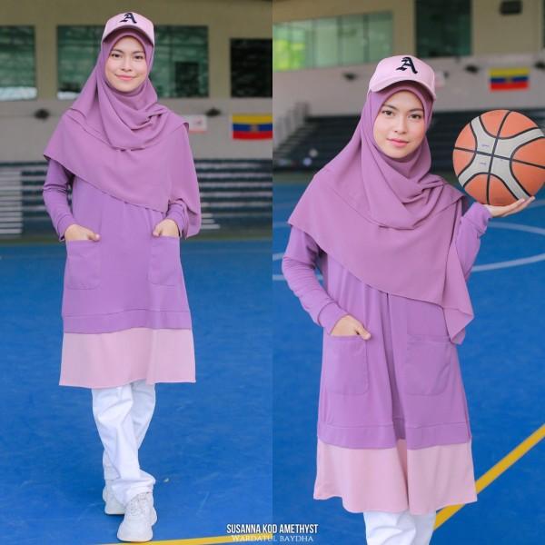 SUSANNA TUNIC - Wardatul Baydha Hijab