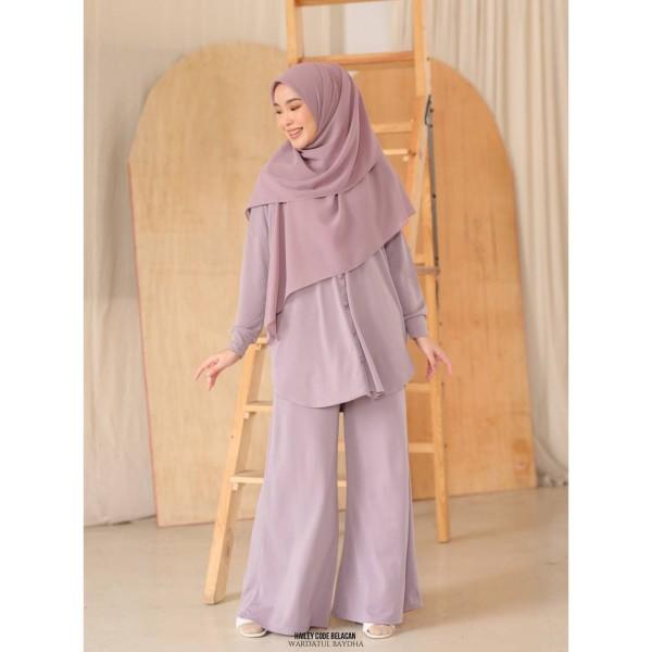 HAILEY SET - Wardatul Baydha Hijab