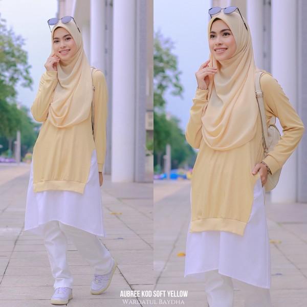 AUBREE TUNIC AS-IS DEFEC - Wardatul Baydha Hijab