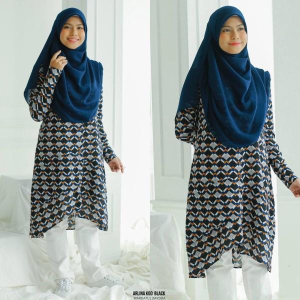 ARLINA TUNIC  - Wardatul Baydha Hijab