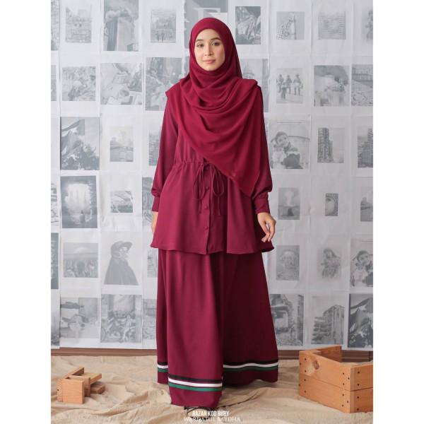 RAZAN SET KURUNG - Wardatul Baydha Hijab