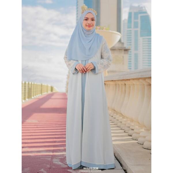 INAYA ABAYA - Wardatul Baydha Hijab