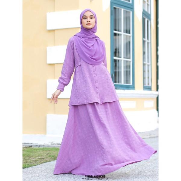 ATHELEA SET 4.0 - Wardatul Baydha Hijab