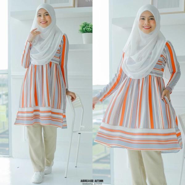 AUDREA TUNIC - Wardatul Baydha Hijab