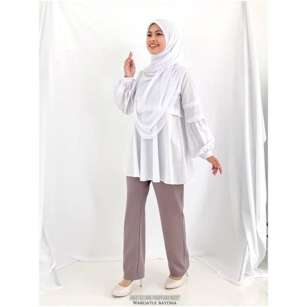ADERLYN PANTS - Wardatul Baydha Hijab