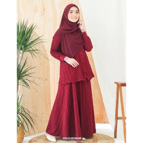 ATHELEA SET 3.0 - Wardatul Baydha Hijab