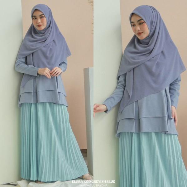 ELORA PEPLUM - Wardatul Baydha Hijab