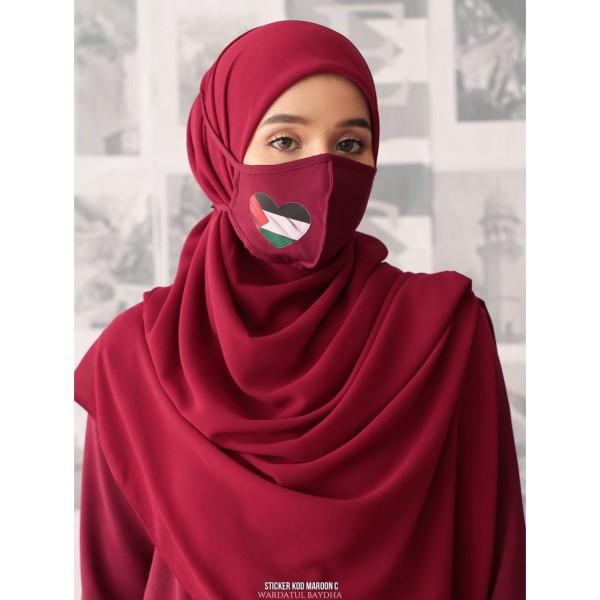 MASK EDISI P4LEST!NE - Wardatul Baydha Hijab