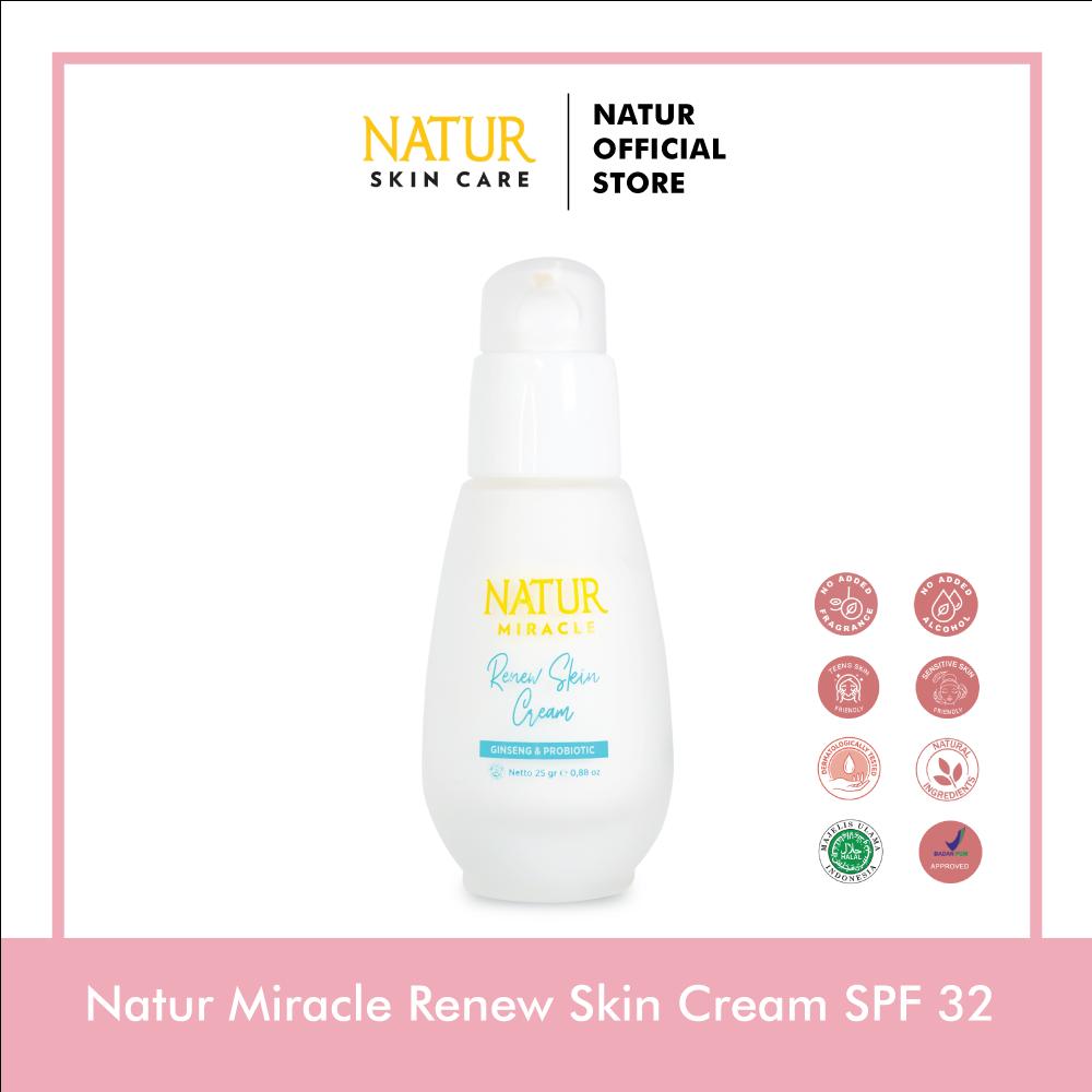 Natur Miracle Brightening Cream SPF 32