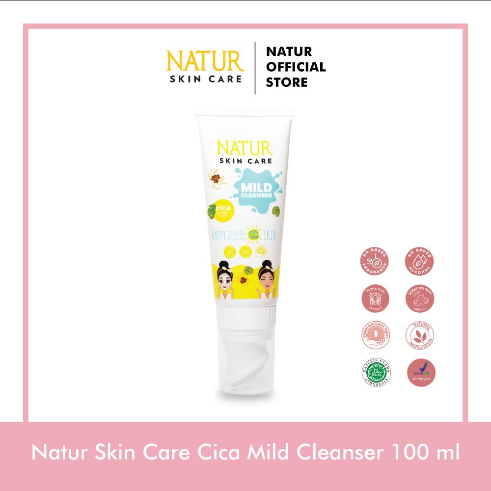 Natur Cica Mild Cleanser 100 ml
