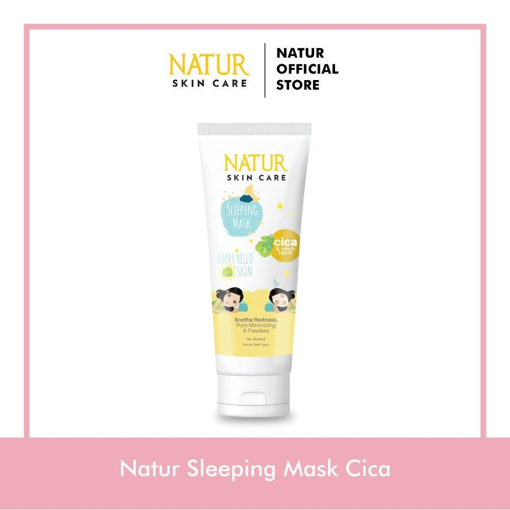 Natur Sleeping Mask Cica 100ml