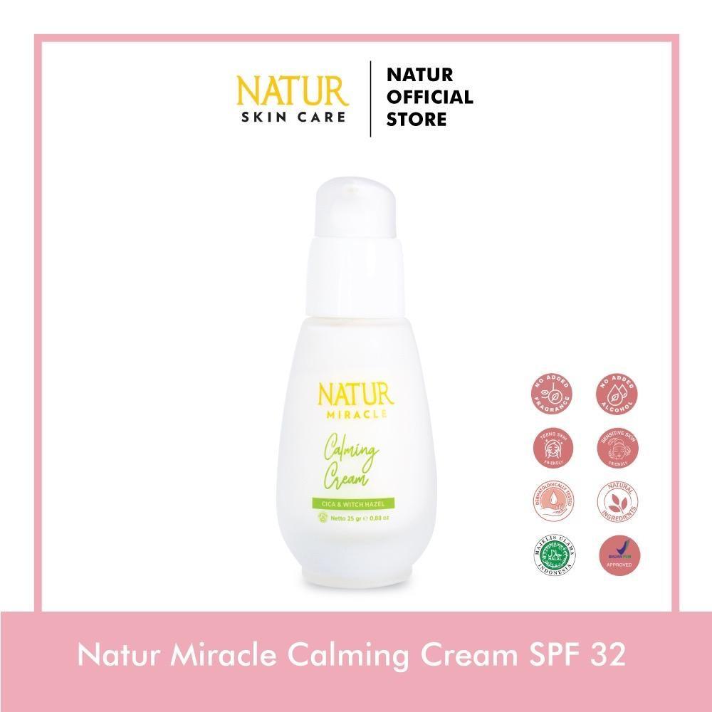 Natur Miracle Calming Cream SPF 32