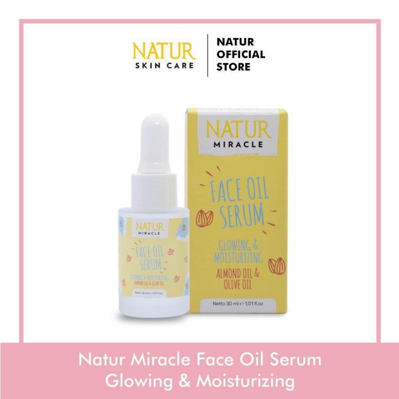 NATUR Miracle Face Oil Serum Glowing & Moisturizing