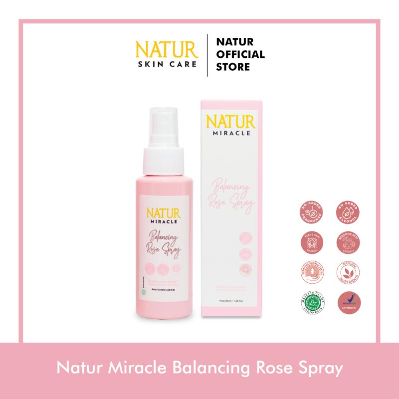 Natur Miracle Balancing Rose Spray 100 ml