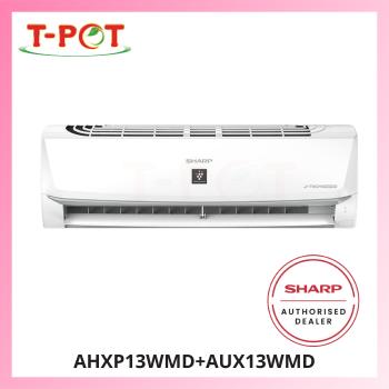 SHARP 1.5HP Inverter Plamacluster Air Conditioner AHXP13WMD