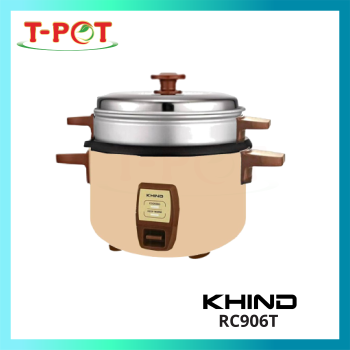 KHIND 0.6L Rice Cooker RC906T