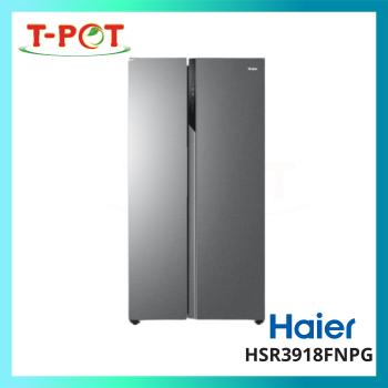 HAIER 569L Side-by-Side Inverter Refrigerator HSR3918FNPG