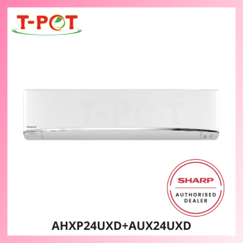 SHARP 2.5HP R32 Inverter Plasmacluster Air Conditioner AHXP24UXD