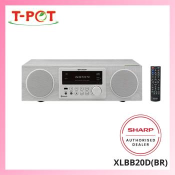 SHARP 50W Audio System XLBB20D(BR)