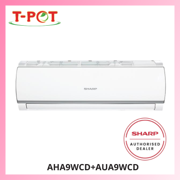 SHARP 1.0HP R32 Air Conditioner AHA9WCD