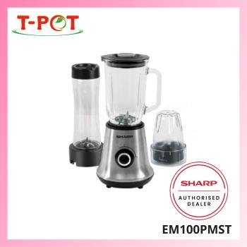 SHARP 1L 3-in-1 Blender EM100PMST