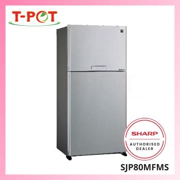 SHARP 720L 2-Door Refrigerator SJP80MFMS