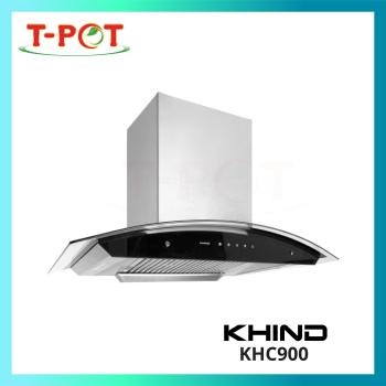 KHIND Tempered Glass Cooker Hood KHC900