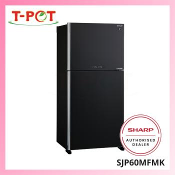 SHARP 610L 2-Door Inverter Refrigerator SJP60MFMK