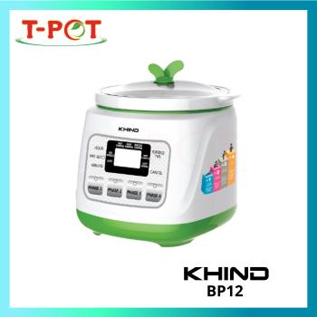 KHIND 1L Baby Porridge Cooker with Ceramic Pot BP12