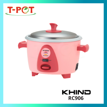 KHIND 0.6L Rice Cooker RC906
