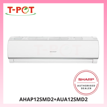 SHARP Plasmacluster 1.5HP Air Conditioner AHAP12SMD2