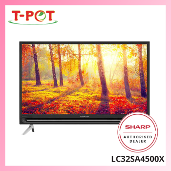"SHARP 32"" HD Ready Easy Smart TV LC32SA4500X"