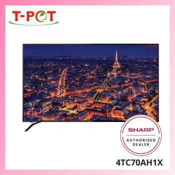 "SHARP AQUOS 70"" 4K UHD Easy Smart TV 4TC70AH1X"