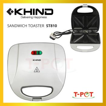 KHIND Sandwich Toaster ST810