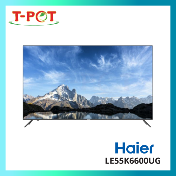"HAIER 55"" LED 4K UHD Android TV LE55K6600UG"