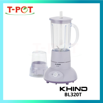 KHIND 1.0L Blender With Dry Mill BL320T